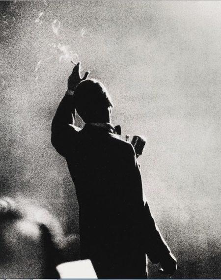 Herman Leonard-Frank Sinatra, Monte Carlo-1958