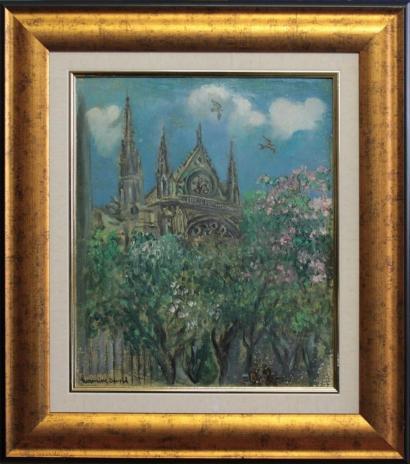 Hermine David-Notre-Dame, Paris-