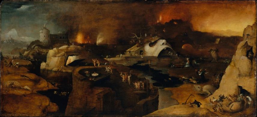 Hieronymus Bosch -Christ's Decent Into Hell - Image via lexiconmagcom