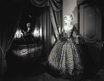 Hiroshi Sugimoto-Norma Shearer (As Marie Antoinette)-1994