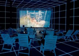 Hito Steyerl - Factory of the Sun, 2015, installation view, German Pavilion, La Biennale di Venezia 2015.