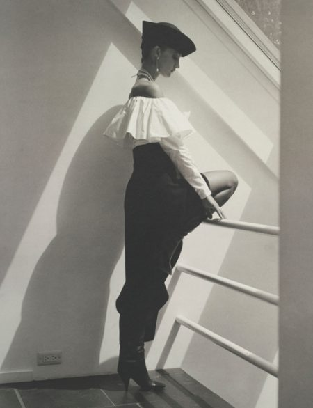 Horst P. Horst-Calvin Klein Fashion, N. Y.-1983