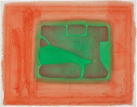 Howard Hodgkin-A Furnished Room-1977