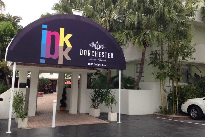 INK Miami Entrance
