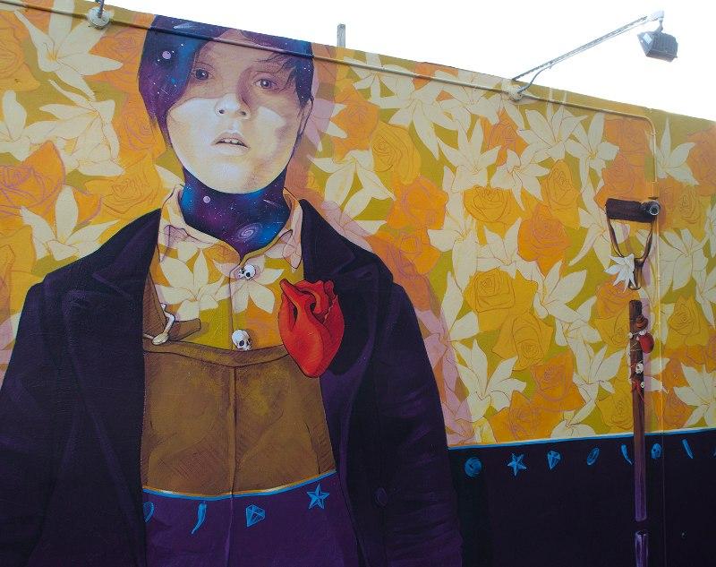 INTI - Codo a Codo, en la calle somos mucho mas que dos - Wynwood, Miami, 2015 - detail #2
