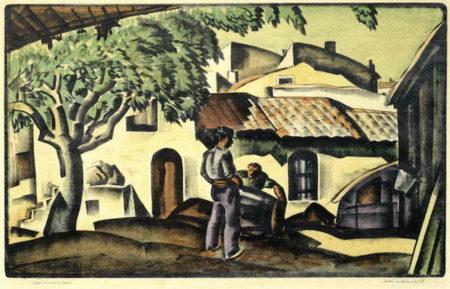 Iain MacNab-The Wine Cask-1940