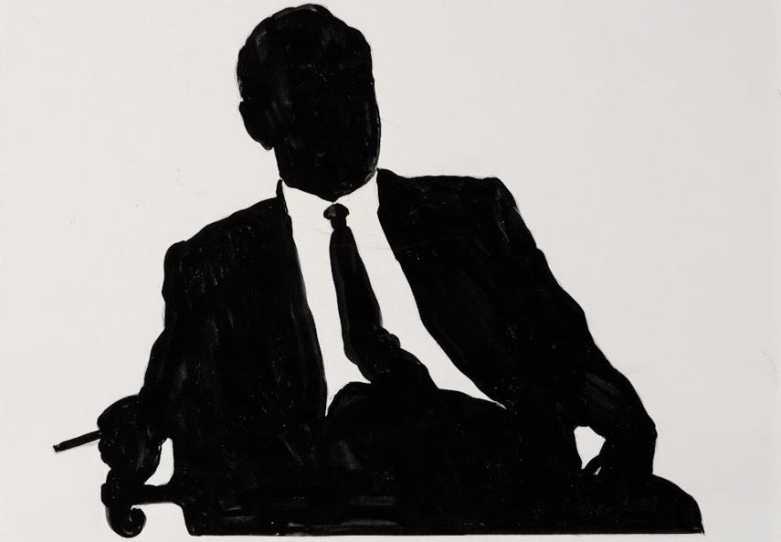 Idelle Weber - Law Man, 1963 - Image via bpcom