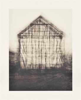 Idris Khan-Every... Bernd and Hilla Becher Gable Side Houses-2008