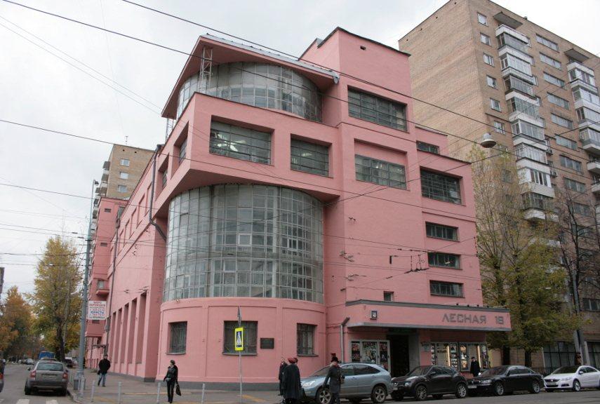 Ilya Golosov - The Zuev Workers' Club - Image via unofficialculturecom
