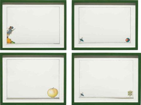 Ilya Kabakov-Four works: Untitled-1995