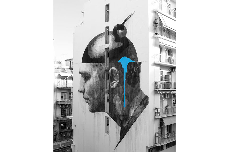 Ino in Athens, Greece