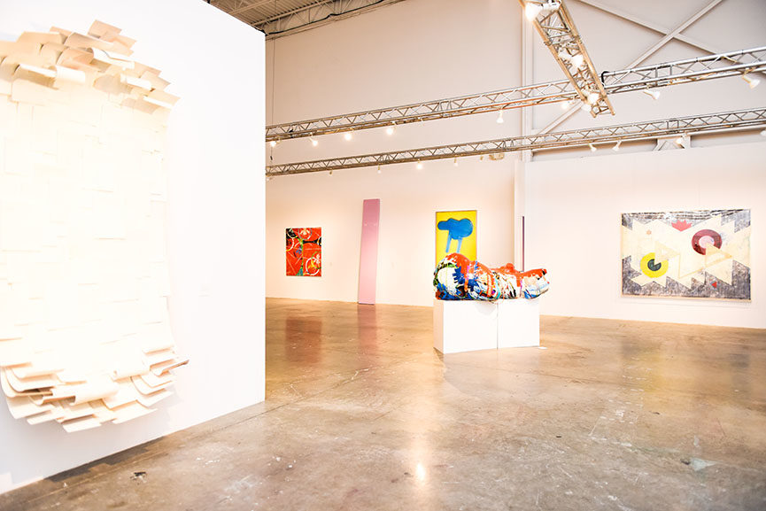 Installation view, Made in California- Selections from the Frederick R. Weisman Art Foundation, at Mana Wynwood, December 1, 2015