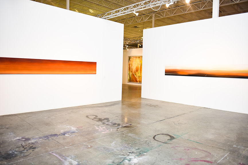 Installation view, Made in California- Selections from the Frederick R. Weisman Art Foundation, at Mana Wynwood, December 1, 2015. [Works pictured by Ed Ruscha.] copy