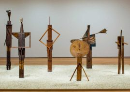 Installation view - Pablo Picasso Sculptures, MoMA,-2015. Image via moma.org