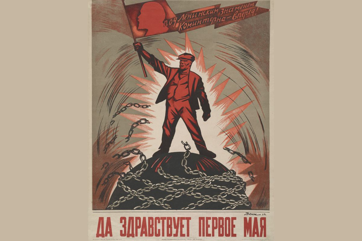 International Workers' Day time ussr stalin russian people great history