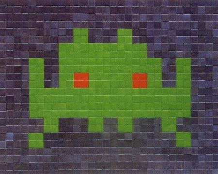 Invader-Green SI-