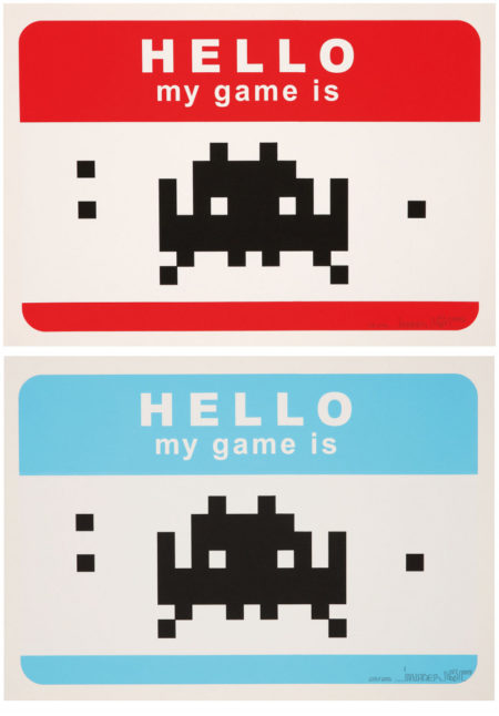 Invader-Hello my Game Is...-2009
