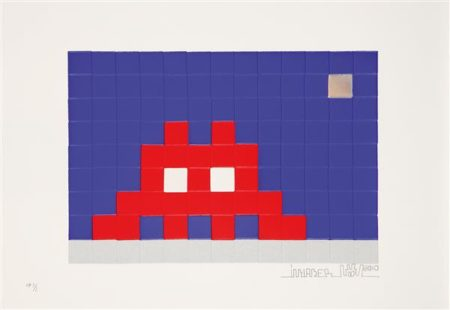 Invader-Home Moon-2010