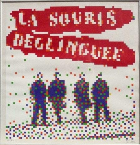 Invader-La Souris Deglinguee-2014