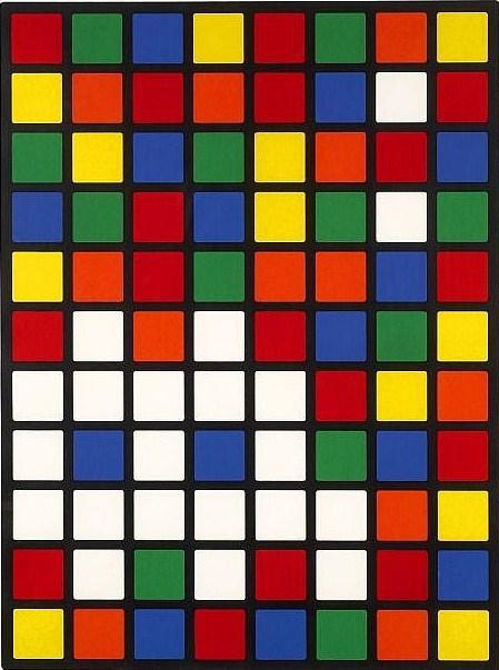 Invader-Rubik Space (Rubicube)-2005