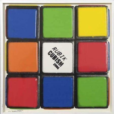 Invader-Rubik Cubism-2006