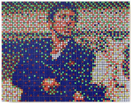 Invader-Rubik Say Hello to my Little Friend-2009