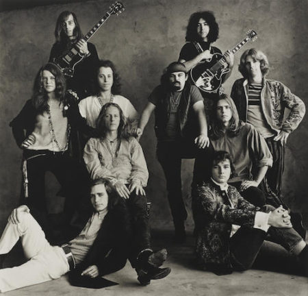 Irving Penn-Big Brother and the Holding Company and The Grateful Dead, San Francisco-1967