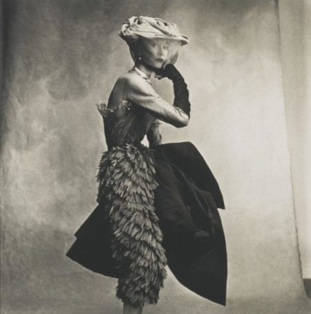 Irving Penn-Cocoa Dress (Balenciaga) Lisa Fonssagrives-Penn-1950
