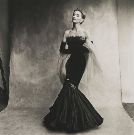 Irving Penn-Mermaid Dress (Rochas) Lisa Fonssagrives-Penn-1950