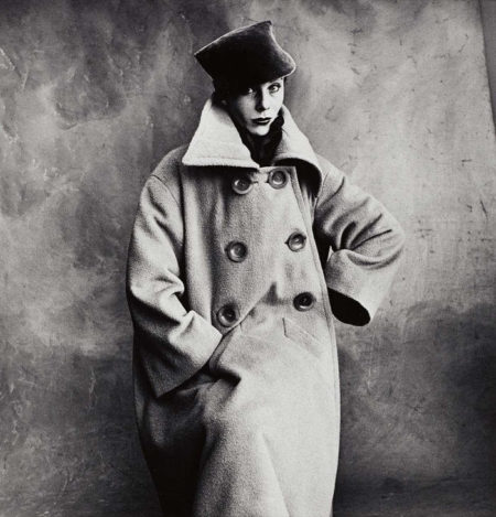 Irving Penn-Schiaparelli Coat (Bettina)(A), Paris-1950