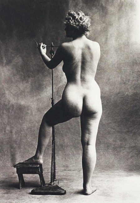 Irving Penn-Sculptor's Model, Paris-1950
