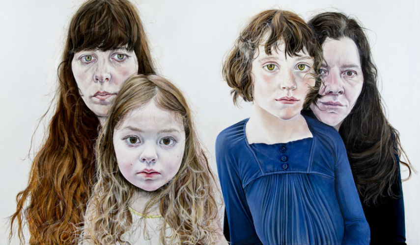 Ishbel Myerscough - Mothers and Daughters, 2014, photo via royalacademy.org.uk