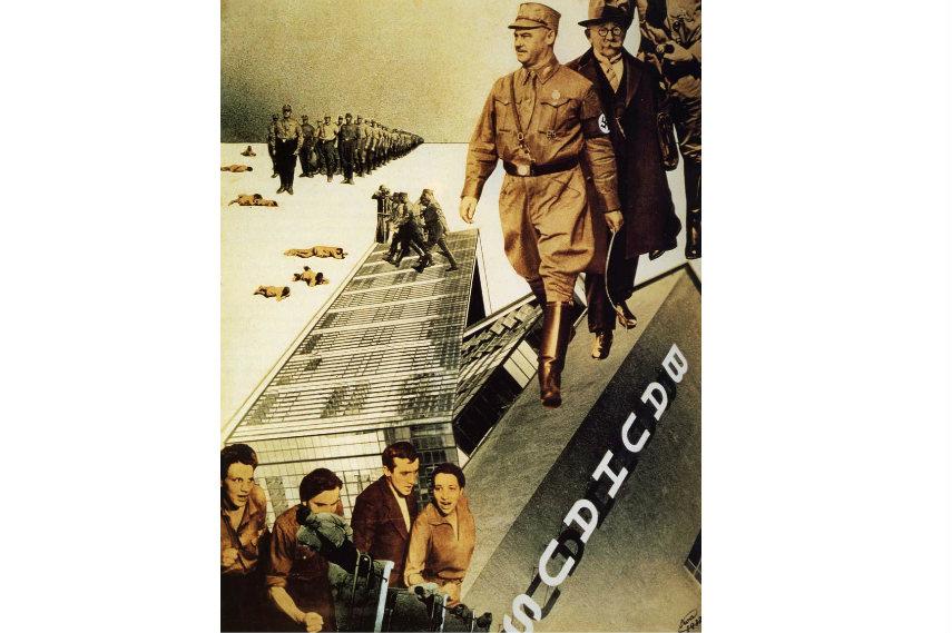 Iwao Yamawaki famous work titled Attack on The Bauhaus