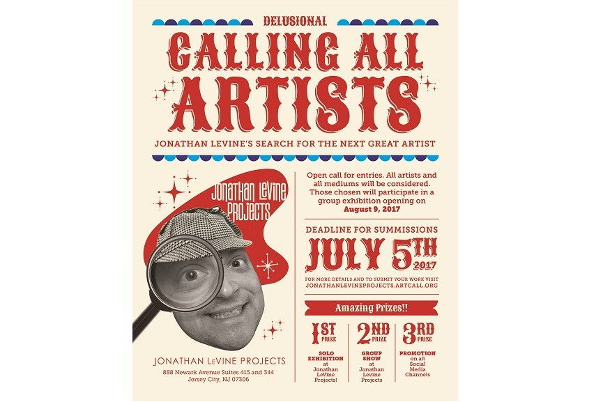 Calling all artists poster