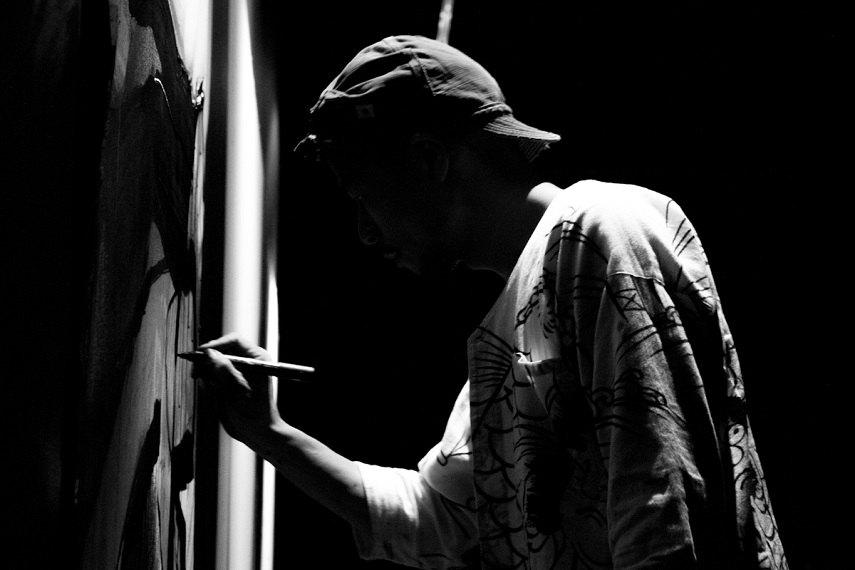 Jun Inoue live paint