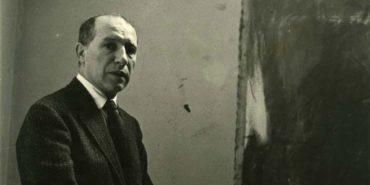Jack Tworkov portrait - Photo by Dennis Wheeler, c.1957