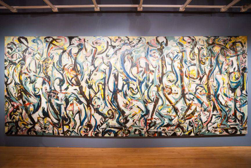 John simon guggenheim memorial foundation award widewalls for Mural jackson pollock