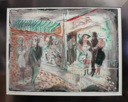 Jacob Gildor-Scene de cabaret-