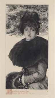 James Jacques Joseph Tissot-Promenade dans la Neige-1880