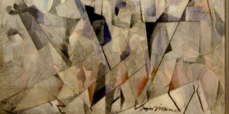 Jacques Villon - Soldats en marche (detail), 1913, photo credits - Flickr