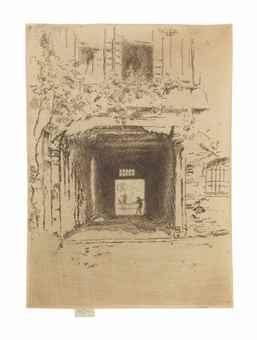 Doorway and Vine-1880