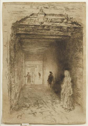 James Abbott McNeill Whistler-The Beggars-1880