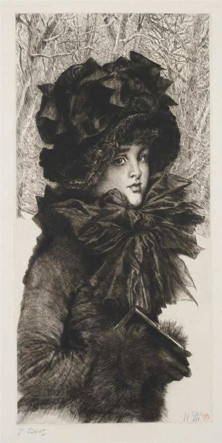James Jacques Joseph Tissot-Le dimanche matin (Sunday Morning)-1883