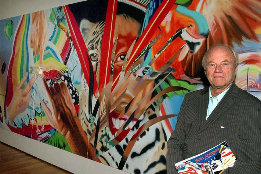 James Rosenquist use