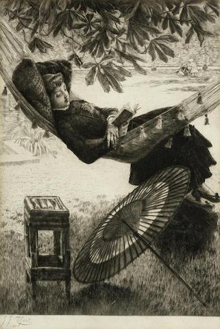 James Jacques Joseph Tissot-La Hamac-1880