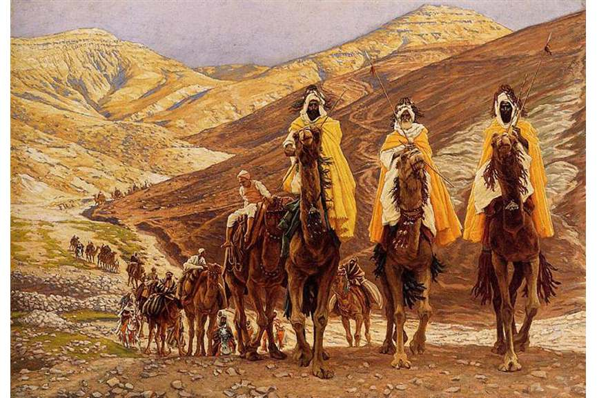 James Tissot - journey-of-the-magi