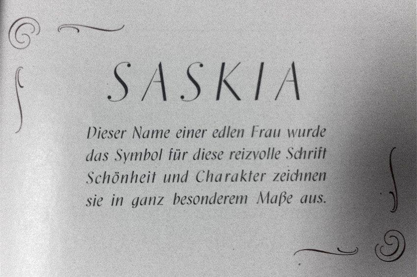 JanTschichold - Saskia, 1931, image via lucdevroyecom, design, book, designers, type, font, serif, use
