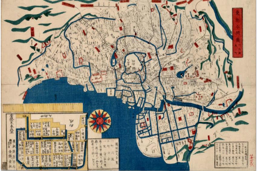 woodblock prints series at kanagawa museum presented in thirty countries