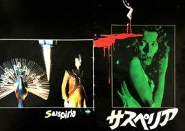 Japanese movie program for Susperia, Directed by Dario Argento, 1977