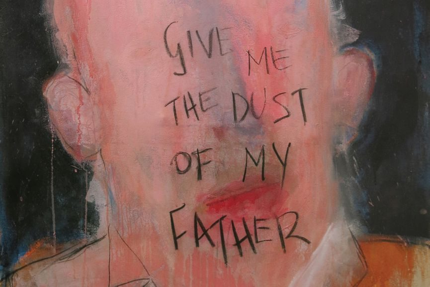 Give Me the Dust of My Father, 2017 (detail)